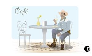 Yippie Kay Yay Cafe by cdup999