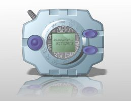 Digivice photorender by Nasdreks