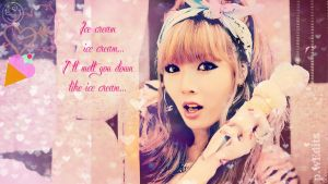 Shes faster than a howling wind  Hyuna___melt_you_down_like_icecream_by_katew49-d5jhngz