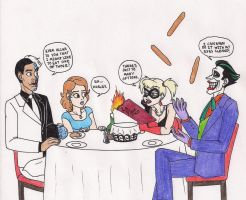 Double Date Night by 13foxywolf666