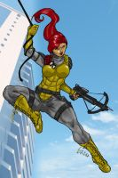 GI Joe - Scarllet by Xanditz