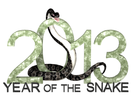 Year of the Snake by GrannyE
