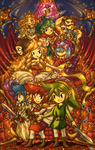 Triforce Heroes by tellie-tale