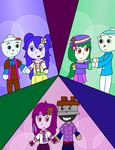 AT 3 Couples by SuperAngel502