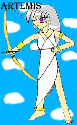 Artemis Goddess of Archery