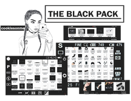 +//the black pack by COOKIESONME