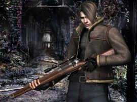 resident evil 4 by cyber-rayne