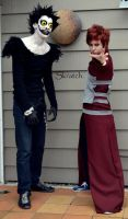 Gaara and Ryuk by CosplayFromSkratch