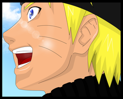Happy Naruto Color by PrinzessinVegeta