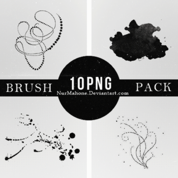 Brush Png Pack #2 by JeanleahBudy