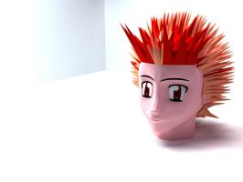 frist head 3d by lektracer