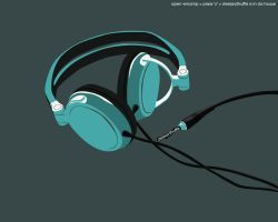 headphones by AlfredBiolek
