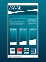 Aqua Web Solutions - Website by liljon28