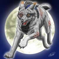 Mortiis : Silver Wolf Moon by SheltieWolf