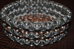 Chainmail Basket Number 2 side by Arakhlin