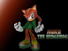 Mike The Hedgehog by M-Craft