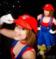 Super Mario by Neferet-Cosplay