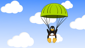 A paratrooper Tux by MawsCM