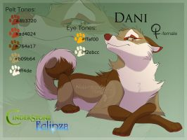Dani Ref Sheet by Nightrizer