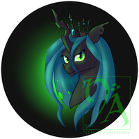 Chrysalis Bust by StarkindlerStudio
