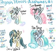 Pegasus Adoptables Number 1 -CLOSED- by GeekPony