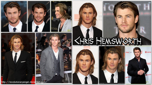 Chris Hemsworth Wallpaper by RevolutionaryAngel