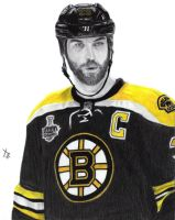 Zdeno Chara Captain Boston Bruins 33 by IamThe1WhoKnocks