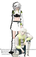 [MMD][DL][RQ] For LittleMsEnvious by AlionaLawliet