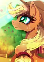 AppleJack - Home sweet Home by Rariedash