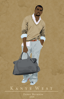Kanye West Revisited by kamzar