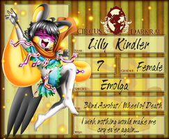 Lilly Kindler- Circus Darkrai Application by Demonshark151
