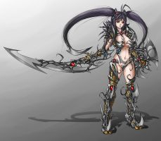 Witchblade: Rihoko by Josemaru