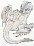 dragon hatchling in color (light variant) by s-ta-s