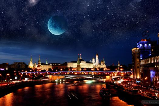 Midnight Kremlin by 4otomax