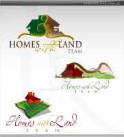 homes with land logo by sameer