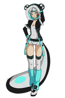 Gaia: Teal by RedRabbu
