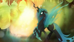 Queen Chrysalis - A light in the Darkness by Rariedash