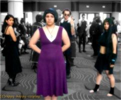A Siner Stands Out by Crappy-Happy-Cosplay