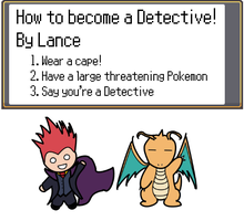 Lance the Detective by RunawayRoadkill