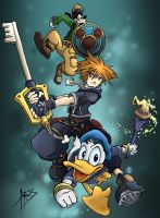 Kingdom Hearts 2 by JjAR01