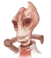 Mordin Solus Sketch by AnArtistCalledRed