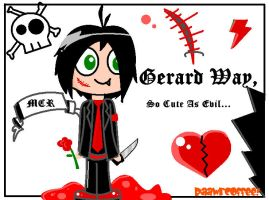 Gerard Way Cute And Evil by RaawrCoffee