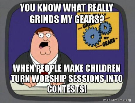 Grinds my Gears - unnecessary contest by menslady125