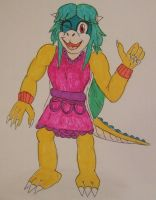 Sammychan816 koopa queen IN COLOR by spyaroundhere35