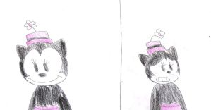 Two sides of Ortensia by MarcosLucky96
