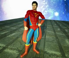 Superman's alternate costume 2nd  skin textures 4 by hiram67