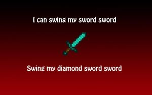 TobyGames I Can Swing My Sword Sword Wallpaper by bramblerose0131