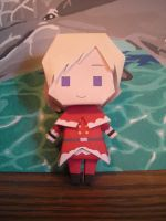 Santa Finland Papercraft by DuckHunter111