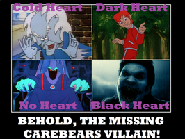 The Missing Care Bears Villain by Popculture-Patron