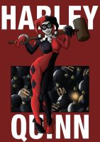 Harley quinn poster by Digraven